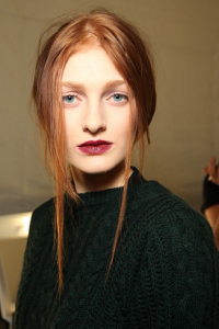 Dark Lips FW2014 makeup trends