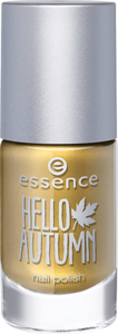 Essence nail polish gold