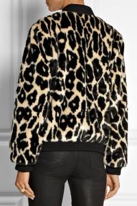 Faux Fur DKNY Leopard