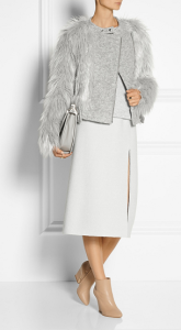 Band Of Outsiders Faux Fur Grey