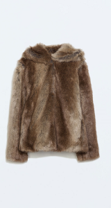 Faux Fur Zara Brown