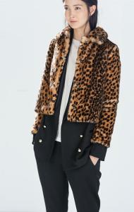 Faux Fur Zara Leopard
