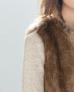 Faux Fur Zara Vest