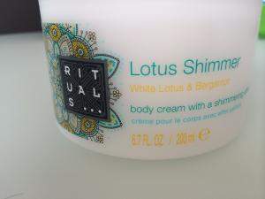 Body Cream Rituals