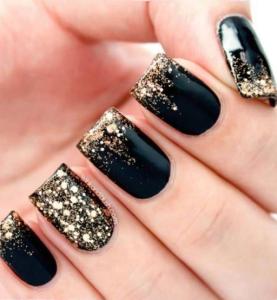 Black & Glitters