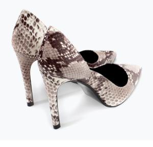 Zara snake print