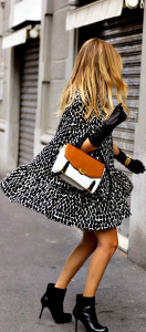 leopard cape coat