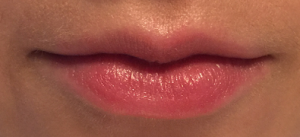 Lippen met lip conditioner
