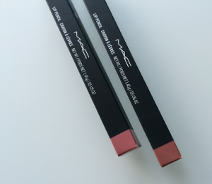 MAC lip pencils