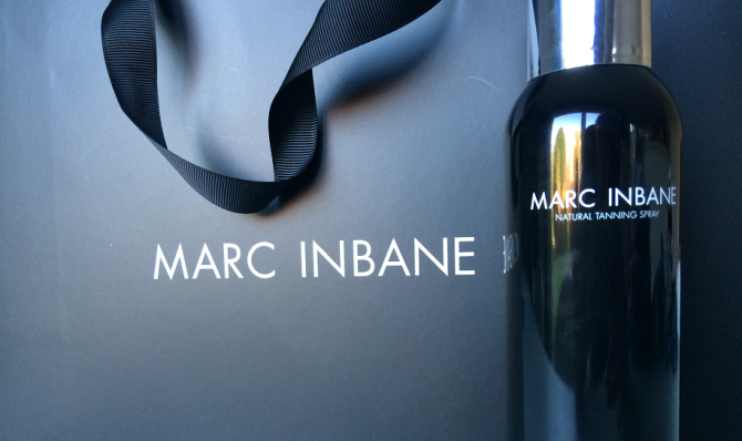 Review Marc Inbane tanning spray