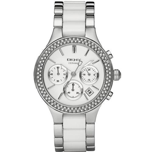 MYRwatches DKNY wit zilver