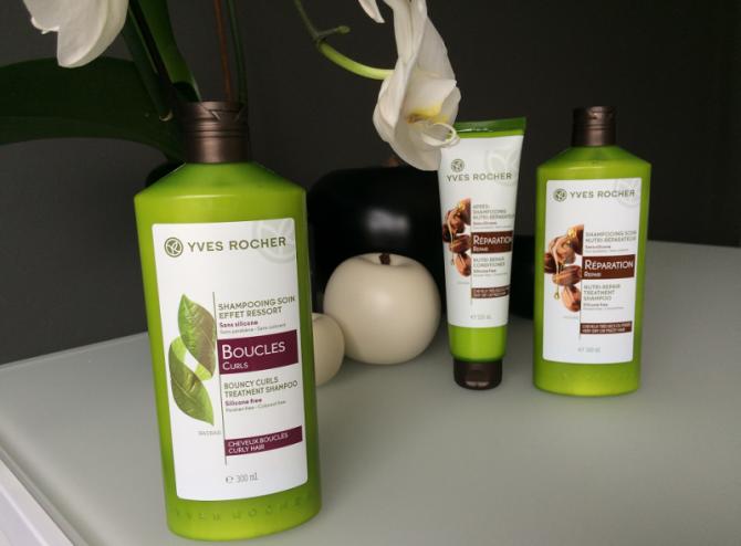 Shampoo zonder parabenen en siliconen van Yves Rocher