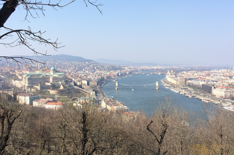 Uitzicht van op Citadella